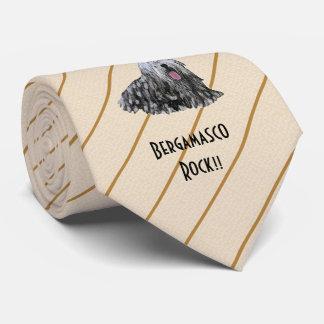 Bergamascos Rock!! double-sided print Tie