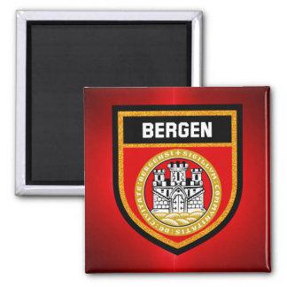 Bergen Flag Magnet