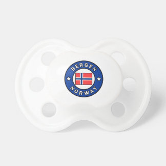 Bergen Norway Pacifier