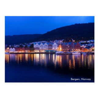 Bergen, Norway Postcard