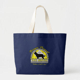 Berger Picard Taxi Service Large Tote Bag