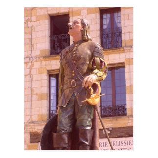 Bergerac - postcard