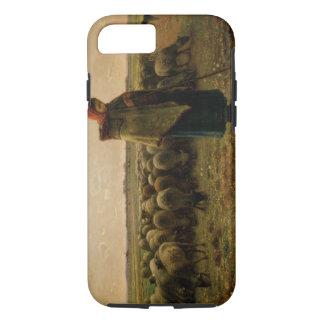 Bergère avec son troupeau, 1863 coque iPhone 7