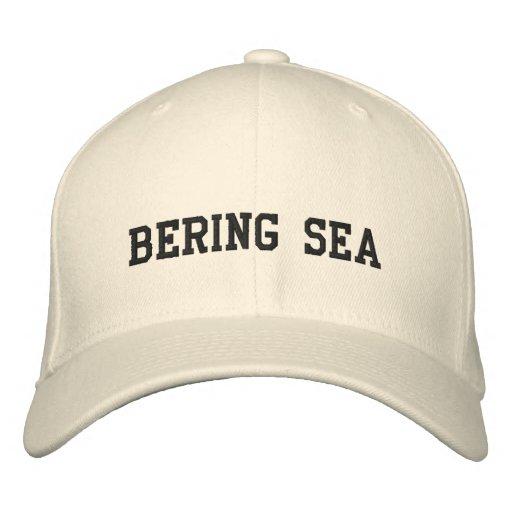 Bering Sea Embroidered Baseball Caps