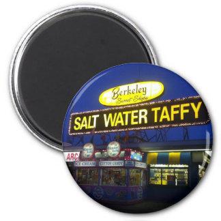 Berkeley Salt Water Taffy at sundown 2 Inch Round Magnet