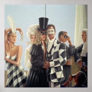 Berkley Hotel Mural - 1 Poster