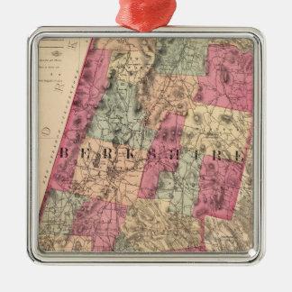 Berkshire County Metal Ornament