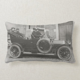 Berliet car rectangular throw pillow