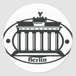 berlin1 classic round sticker