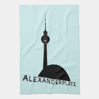 Berlin Alexanderplatz Towels