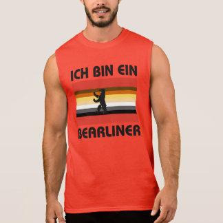 Berlin Bear Pride Ich Bin Ein Bearliner Sleeveless Shirt