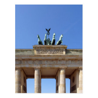 Berlin Brandenburg Gates Postcard