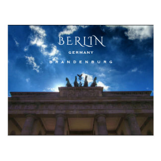 Berlin, Brandenburg Postcard