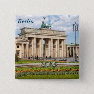 Berlin Brandenburger Tor 2 Inch Square Button