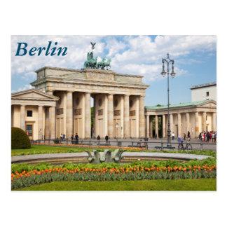 Berlin Brandenburger Tor Postcard