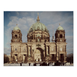 Berlin Cathedral 001.02.F, Berliner Dom Poster