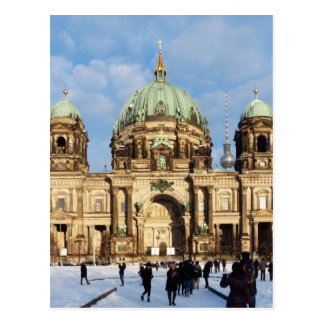 Berlin Cathedral, Berliner Dom, Germany Postcard