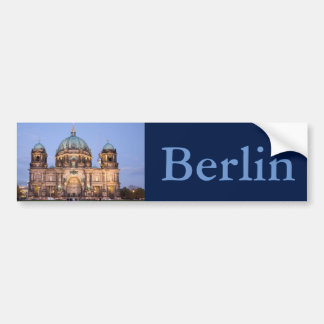 Berlin Cathedral Bumper Sticker