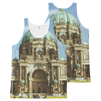 Berlin Cathedral German Evangelical Berliner Dom All-Over-Print Tank Top