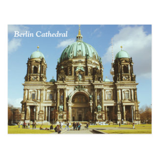 Berlin Cathedral German Evangelical Berliner Dom Postcard