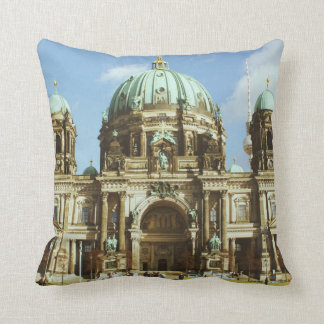 Berlin Cathedral German Evangelical Berliner Dom Throw Pillow