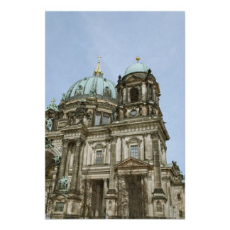Berlin Cathedral Poster