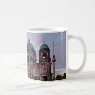Berlin Cathedral with Television Tower and Lustgar Coffee Mug