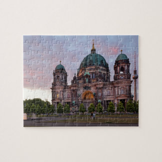 Berlin Cathedral with Television Tower and Lustgar Jigsaw Puzzle