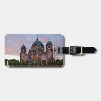Berlin Cathedral with Television Tower and Lustgar Luggage Tag