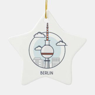 Berlin Ceramic Ornament