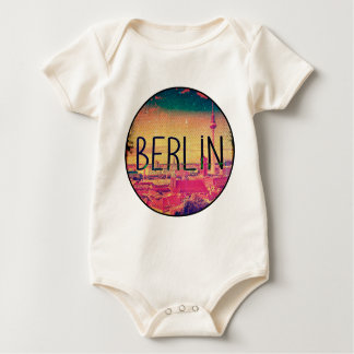 Berlin, circle baby bodysuit