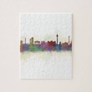 Berlin City Germany. Deutsche Skyline art v2 Jigsaw Puzzle