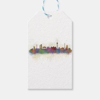Berlin City Germany. Deutsche Skyline art v2 Pack Of Gift Tags