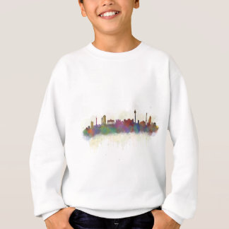 Berlin City Germany. Deutsche Skyline art v2 Sweatshirt