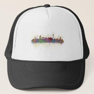 Berlin City Germany. Deutsche Skyline art v2 Trucker Hat
