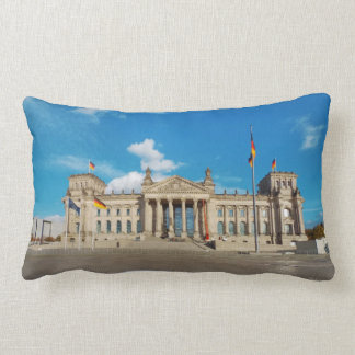 Berlin city Germany Reichstag building landmark ar Lumbar Pillow