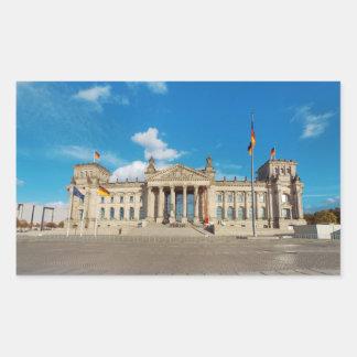 Berlin city Germany Reichstag building landmark ar Sticker