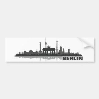 Berlin city of skyline - autostickers bumper sticker