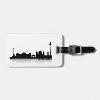 Berlin Cityscape_2 Luggage Tag