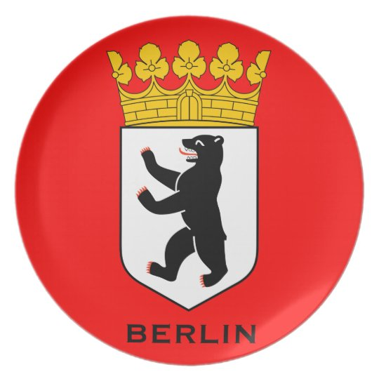 Berlin Coat of Arms Plate