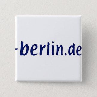 Berlin Domain - berlin.de 2 Inch Square Button