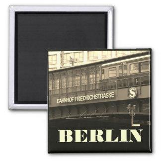 BERLIN Friedrichstraße 001.F.01, S-Bahn, Germany Square Magnet