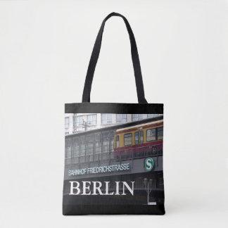 Berlin Friedrichstrasse, Station, Germany 001.02 Tote Bag
