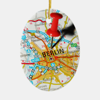 Berlin, Germany Ceramic Ornament