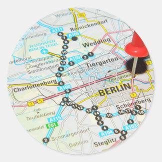 Berlin, Germany Classic Round Sticker