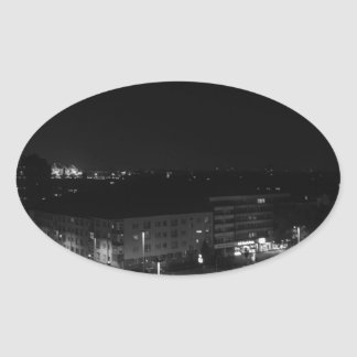 Berlin Germany - Concrete Cadillac Skyline. Stickers