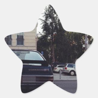 Berlin, Germany - Dahlmann Strasse Star Sticker
