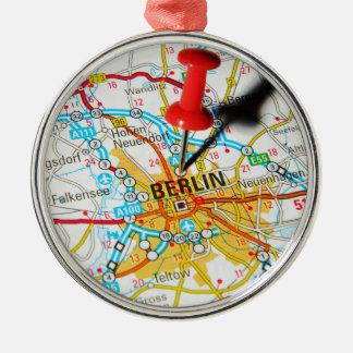 Berlin, Germany Metal Ornament