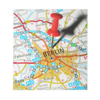 Berlin, Germany Notepad
