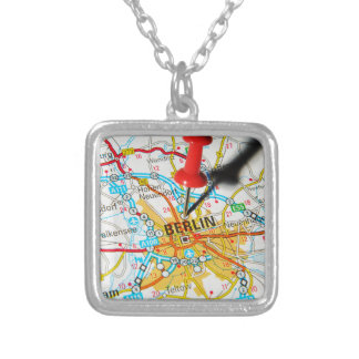 Berlin, Germany Silver Plated Necklace